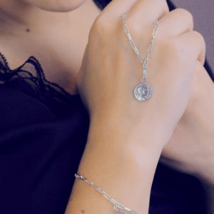 SILVER NECKLACE - JUST A SILVER