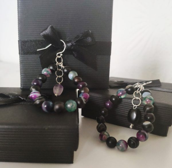 AGATE EARRINGS - THE ENERGY OF THE WORLD OF STONES